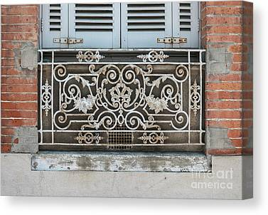 Antique Ironwork Canvas Prints