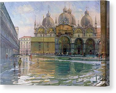Acqua Alta Canvas Prints