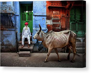 India Canvas Prints