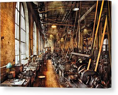 Old Mill Scenes Canvas Prints