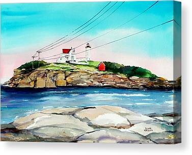Lubbel Lighthouse Canvas Prints