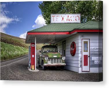 56 Chevy Pickup Canvas Prints
