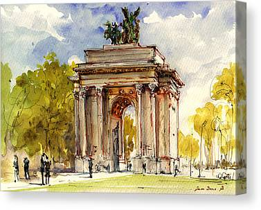 Hyde Park Canvas Prints