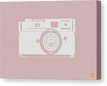 Polaroid Camera Canvas Prints