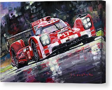 Automotive Art Series Canvas Prints