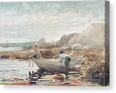 Winslow Homer Paintings Canvas Prints