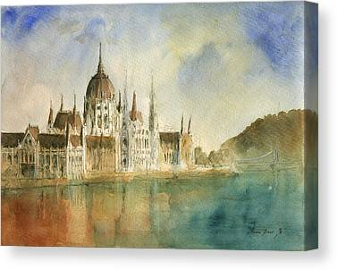 Danube Canvas Prints