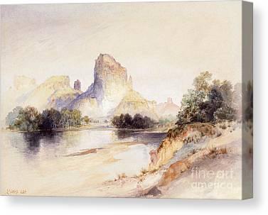 Thomas Moran Drawings Canvas Prints
