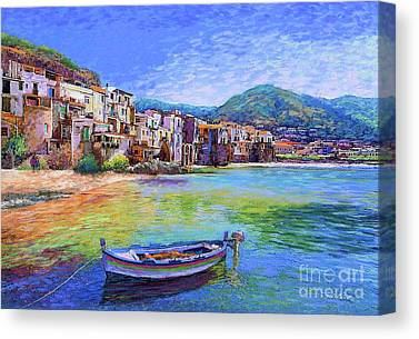 Beach Towns Canvas Prints