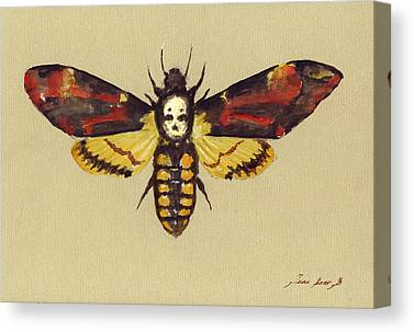 Silence Of The Lambs Canvas Prints