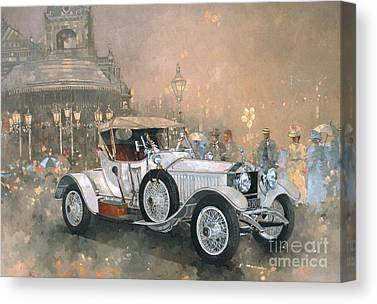 Old Fashion Canvas Prints