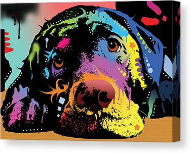 Labrador Retriever Canvas Prints