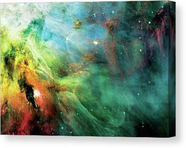 Hubble Telescope Images Canvas Prints