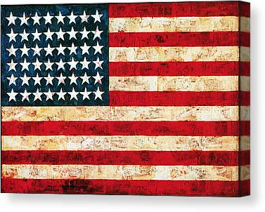 Jasper Johns Canvas Prints