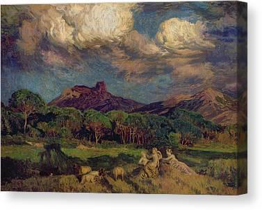 Menard Canvas Prints