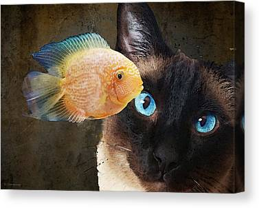 Fishy Canvas Prints