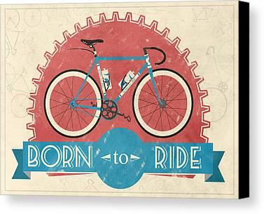 Bicycle Canvas Prints