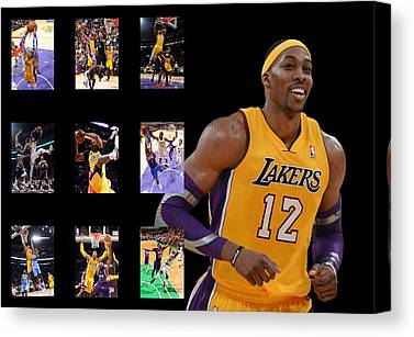 Los Angles Lakers Canvas Prints