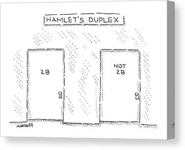 Shakespeare Drawings Canvas Prints