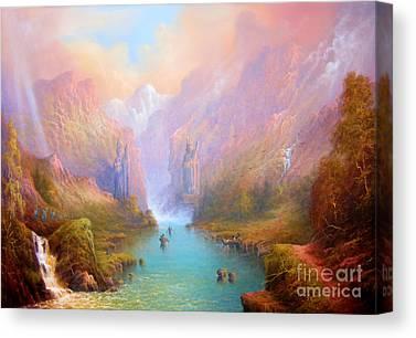 Elven Canvas Prints