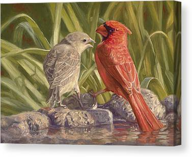Young Adult Paintings Canvas Prints