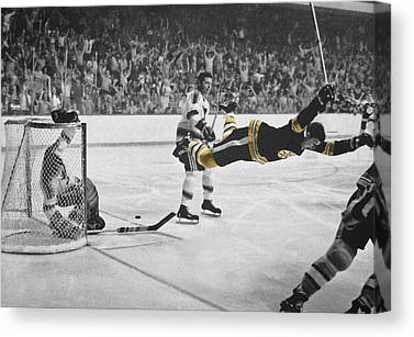 Bobby Orr Canvas Prints