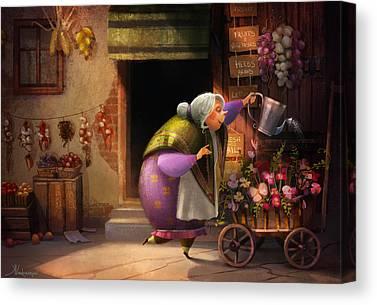 Grandma Canvas Prints