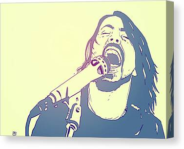 Live Music Canvas Prints