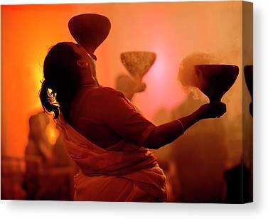 Durga Puja Canvas Prints