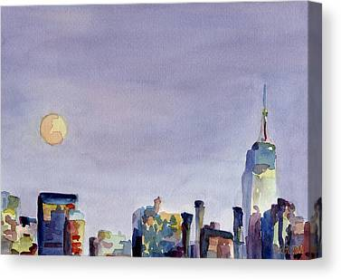 New York State Paintings Canvas Prints