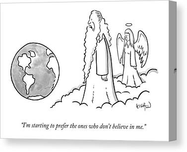 Atheism Canvas Prints