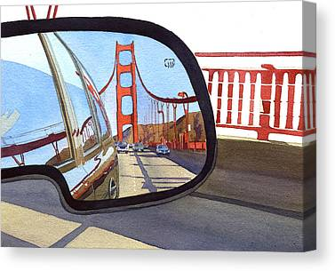 Marin County Canvas Prints
