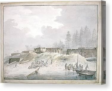 Nootka Sound Canvas Prints