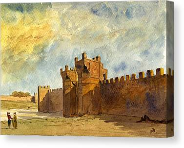 Rabat Canvas Prints