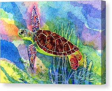Flippers Canvas Prints