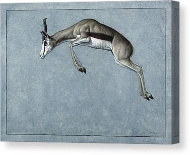 Jumping Canvas Prints
