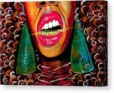 Teeth Canvas Prints