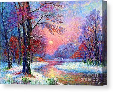 Icy Canvas Prints