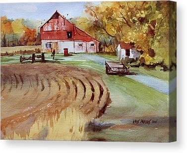 Outbuildings Canvas Prints