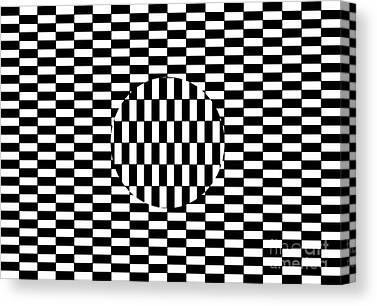 False Motion Canvas Prints
