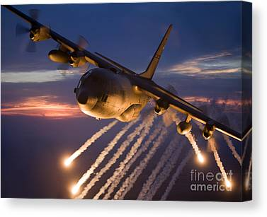 National Guard Canvas Prints
