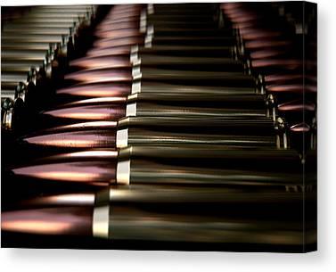 Ammunition Digital Art Canvas Prints