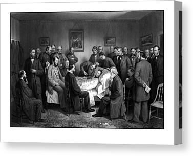 Emancipation Proclamation Drawings Canvas Prints