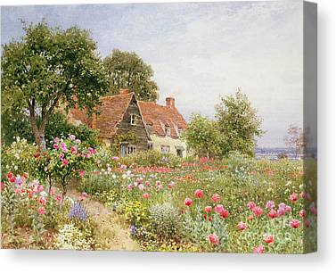 The Houses Canvas Prints