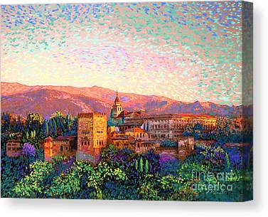 Granada Canvas Prints