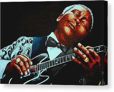 Rhythm And Blues Canvas Prints