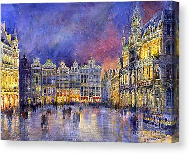 Belgium Canvas Prints