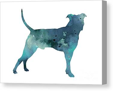 Pit Bull Canvas Prints