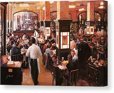 Coffee Shops Canvas Prints