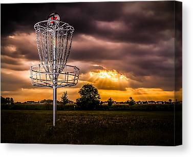 Disc Golf Canvas Prints